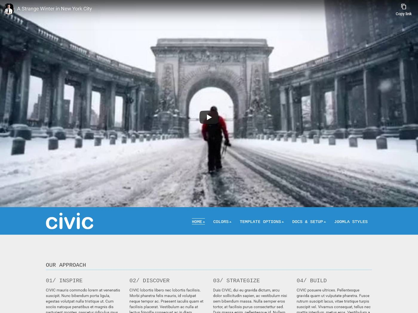 Civic screenshot